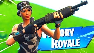 New Fortnite LEGENDARY PUMP Shotgun Gameplay..