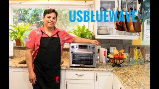 USBLUEWAVE  LATESET MODEL AIR FRYER OVEN PRESENTATION