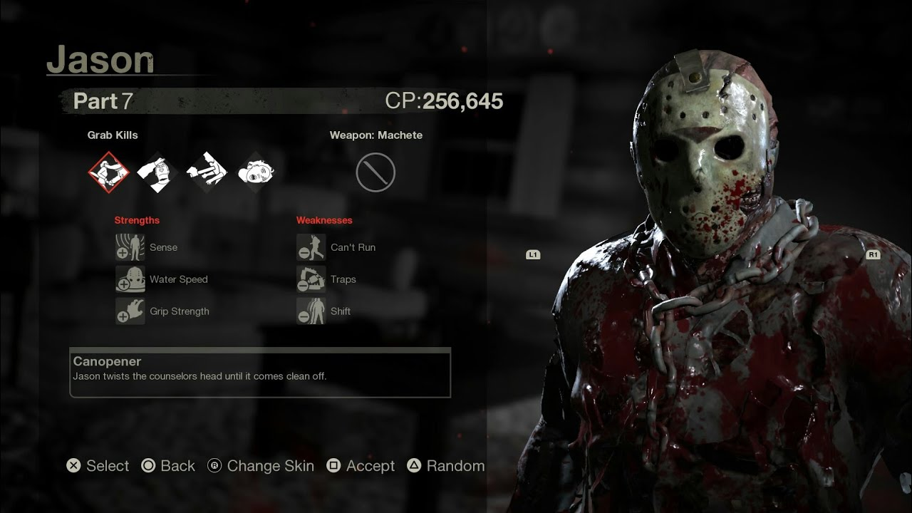 Bloody Jason - Friday the 13th: The Game