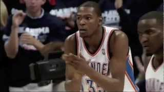 Oklahoma City Thunderstruck 2012-13 Pump Up