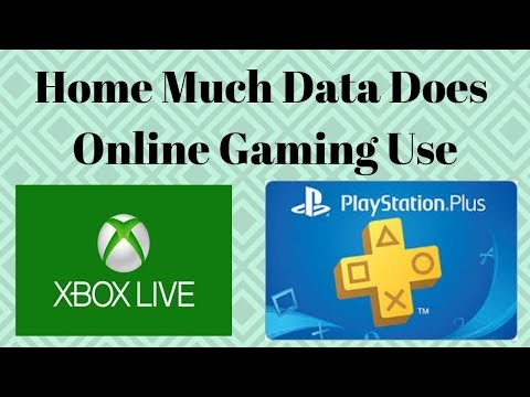 How Much Data Does Online Gaming Use