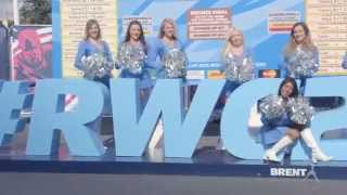 The London Cheerleaders, Rugby World Cup 2015