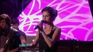 [1080p] Selena Gomez - A Year Without Rain @ (TheEllenDeGeneresShow) HD