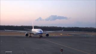 2014年3月21日 阿蘇くまもと空港 高雄→熊本→高雄チャーター.