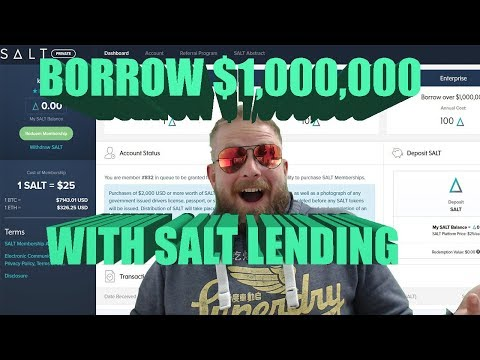 💸What is SALT? Cryptocurrency Lending Service