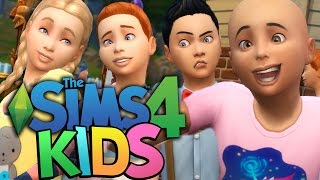 Sims 4 - TURNING MY SIMS INTO CHILDREN !!! - The Sims 4 Backyard Stuff