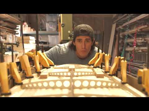 DIY project: building hollow body wood surfboard using Entropy Resins Epoxy