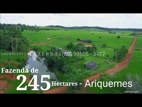 Fazenda a venda, Rondônia - Ariquemes 245 Há  #171
