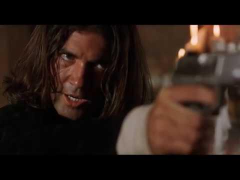 Перестрелка с бандитами в баре, отрывок из фильма (Отчаянный)