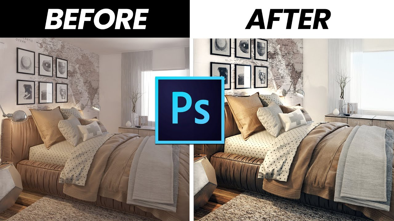Photo Realistic Post Production with 3ds Max and Photoshop : The Quickest  Way
