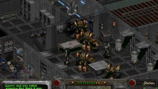 Fallout 2 - part 314 - final battle - Enclave - gameplay - hardest difficulty