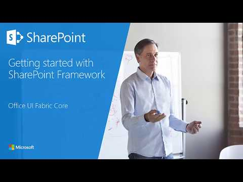 SharePoint Framework Training - Module 06 Section 2 - Office UI Fabric Core