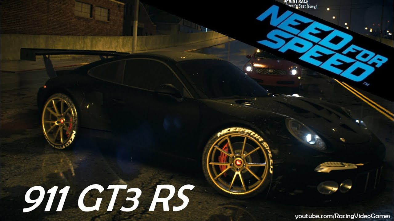 need for speed 2015 porsche 911 gt3 rs 991 gameplay ps4 xbox one youtube. Black Bedroom Furniture Sets. Home Design Ideas