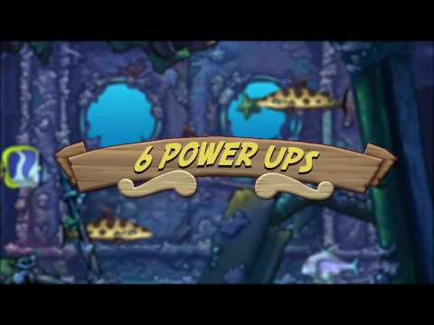 Feeding Frenzy 2 Shipwreck Showdown 2 video game trailer