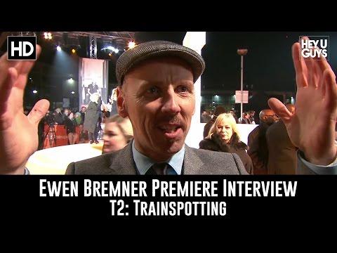 Ewen Bremmer Premiere Interview - T2: Trainspotting