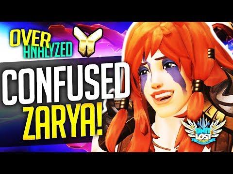 Overwatch Coaching - Zarya GO IN! GRAV! FIGHT! [OverAnalyzed]
