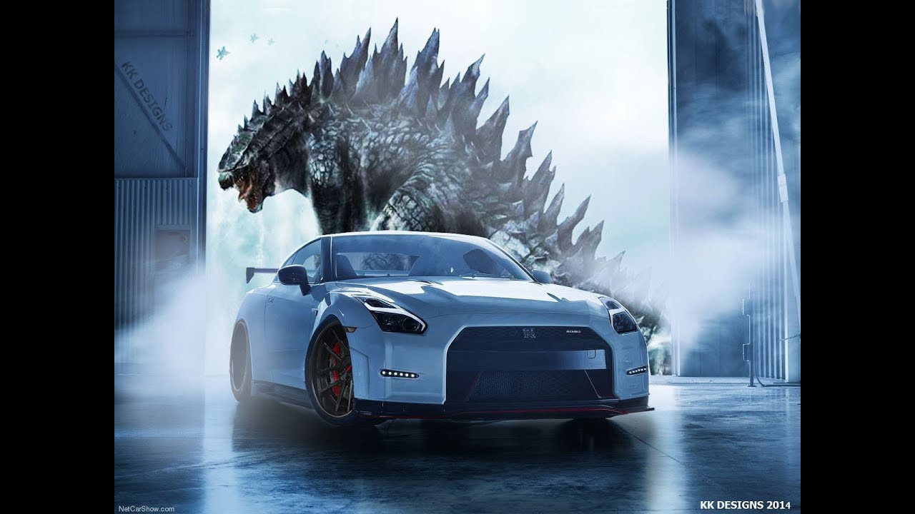 Nissan Gtr R35 Godzilla Tribute Youtube