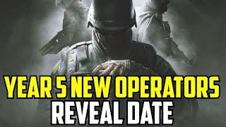 Rainbow Six Siege Year 5 New Operators & Reveal Date. Road Map Battle Pass New Elites
