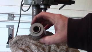 How To Remove Drill Press Chuck Rockwell Delta