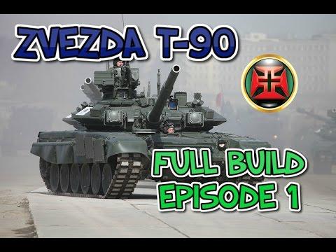 ZVEZDA 1/35 T-90 Full Build Episode 1