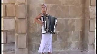 Accordion player in Spain