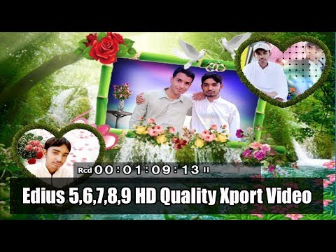 Online Classes Learn Edius 5,6,7,8,9 How To Export Wedding Projects In Edius Tutorial in urdu/Hindi
