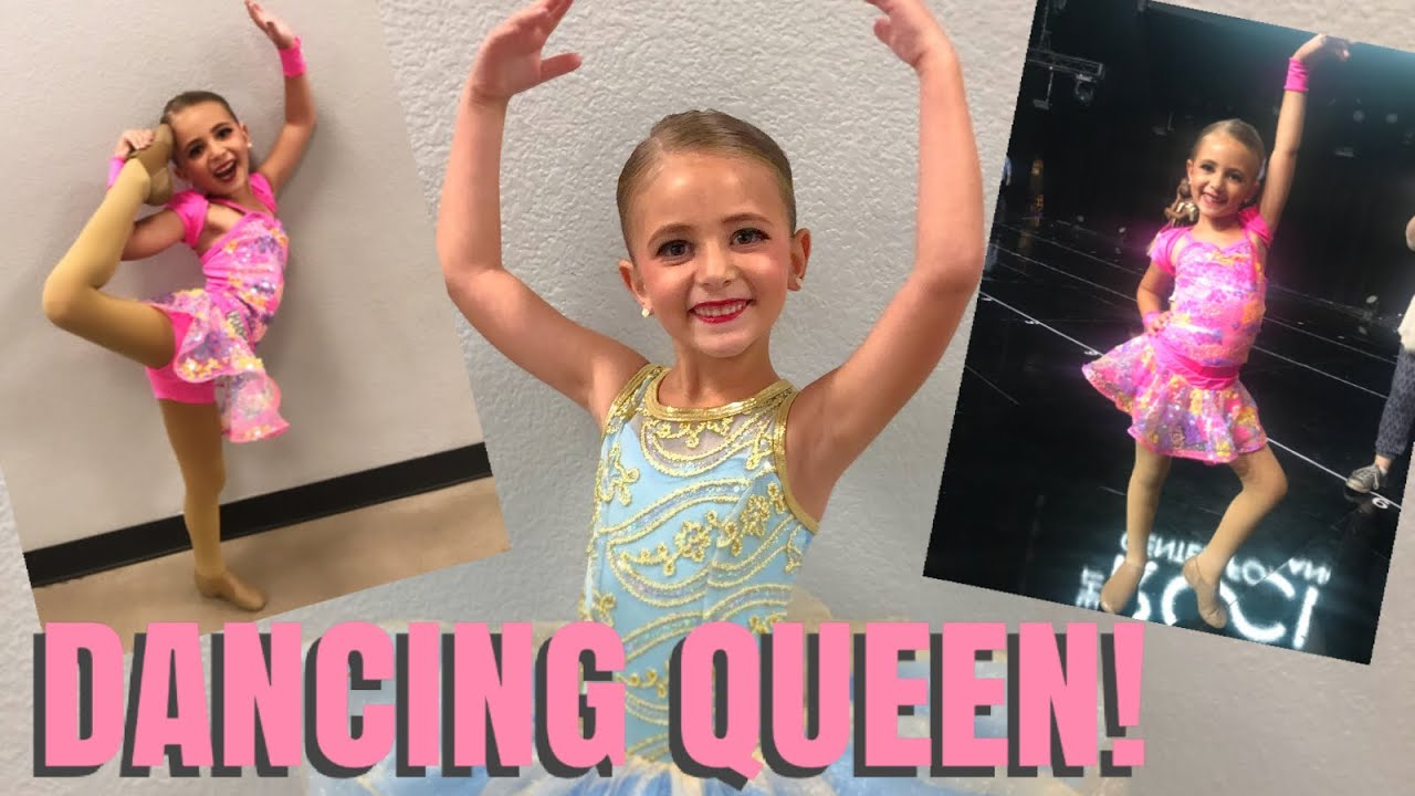 Download TALENTED 6 YEAR OLD SHINES THROUGH AT HER DANCE RECITAL! / OUR LITTLE DANCING QUEEN