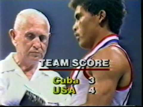 "USA vs Cuba 1981 Amateur boxing ABC ""Wide World of Sports"""