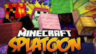 Minecraft SPLATOON! #1 w/ PrestonPlayz, Lachlan, Vikkstar & PeteZahHutt