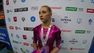 Komova is back on the Voronin Cup 2017