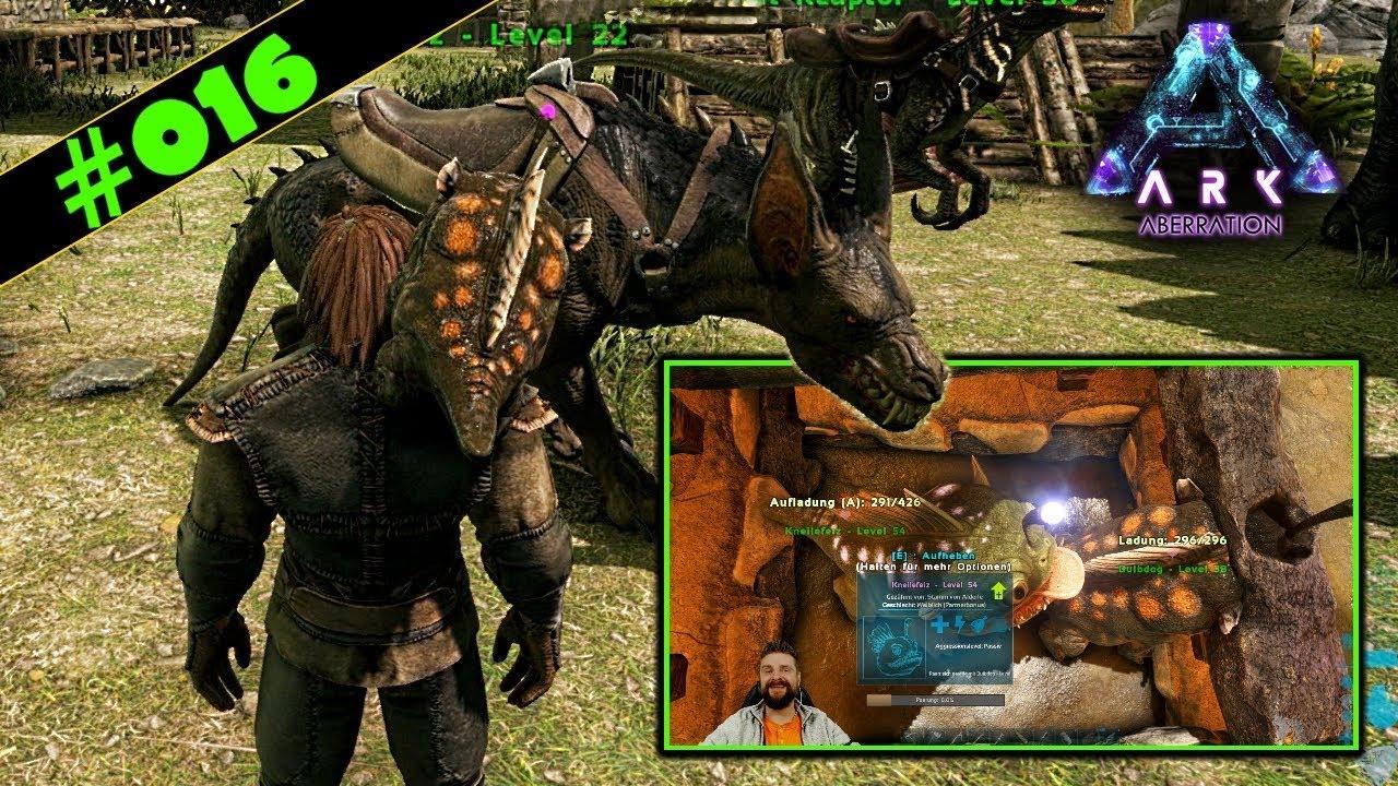 Kletterausrüstung Xbox One : Ark aberration deutsch #016 ravager sattel kneilefeiz schwanger