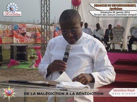 De la malédiction à la bénediction Ensgt  Mathias Marie à REVELATION  SACERDOCE ROYAL