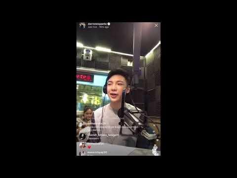 Darren Espanto IG LIVE- Darren on MAGIC 89.9 FM (12-14-2017)