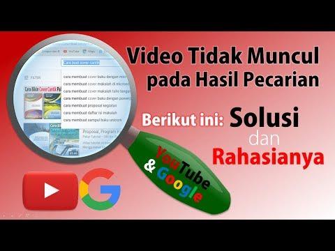 Cara Agar Video Muncul dalam Hasil Pencarian YouTube dan Google