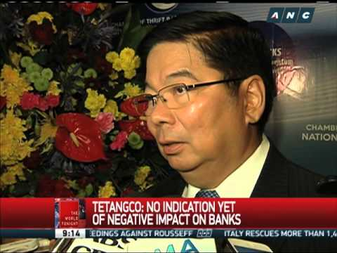 Tetangco open to amending bank secrecy law