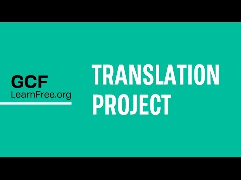 GCFLearnFree.org Translation Project
