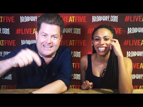 Broadway.com #LiveatFive with Nicolette Robinson (INVISIBLE THREAD, BROOKLYNITE)