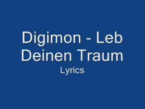 Digimon - Leb Deinen Traum - Lyrics
