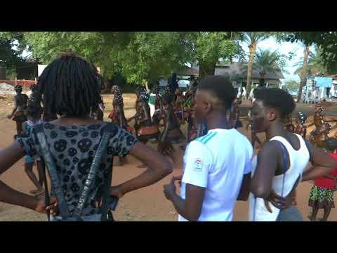 Karnevalsamstag 2018 Bubaque (Guinea  Bissau )