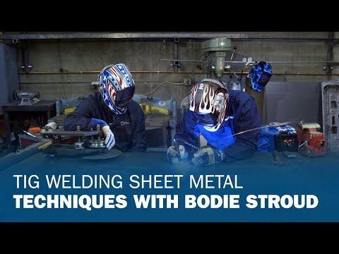 Bodie Stroud Talks TIG Welding Sheet Metal with Josh Welton