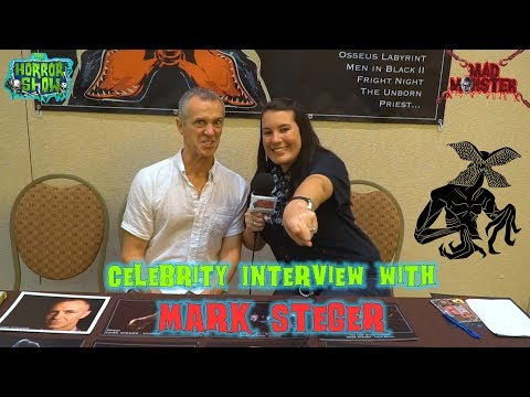 Celebrity  with MARK STEGER aka the DEMOGORGON from