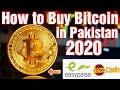 How to Buy Bitcoins in Pakistan