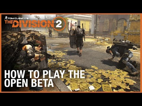 The Division 2 Open Beta Is Live on PS4