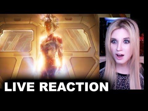 Captain Marvel Trailer 2 REACTION