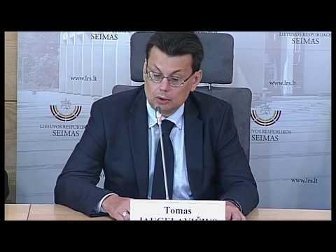 2018-09-12 Seimo nario Petro Gražulio spaudos konferencija