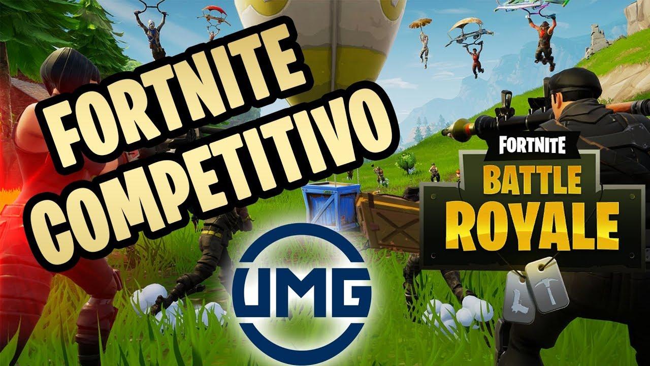 CÓMO JUGAR Fortnite COMPETITIVO en CONSOLAS   UMG, GB´s ...