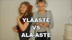YLÄASTE VS ALA-ASTE