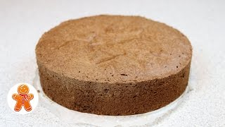 Шоколадный Бисквит Без Муки ✧ Школа Домашнего Кондитера