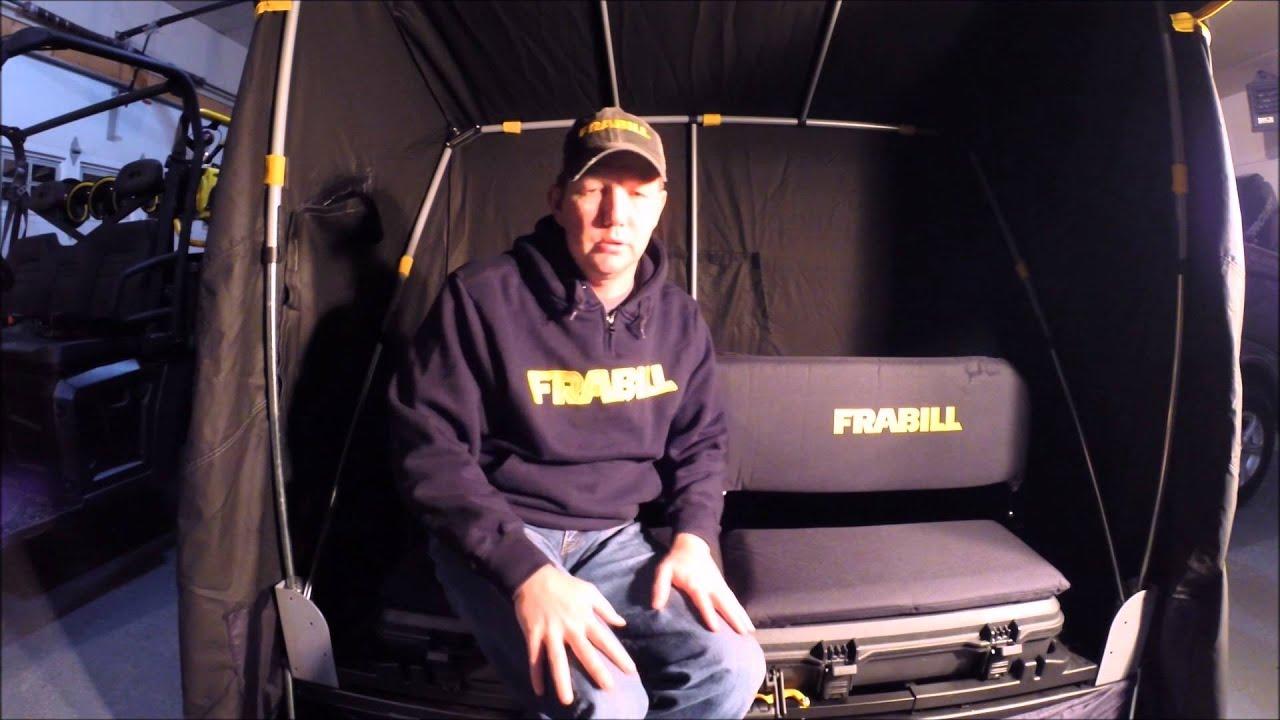 Frabill Citadel Ice Shelter Youtube