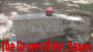 The Grave Of Frank Saxon